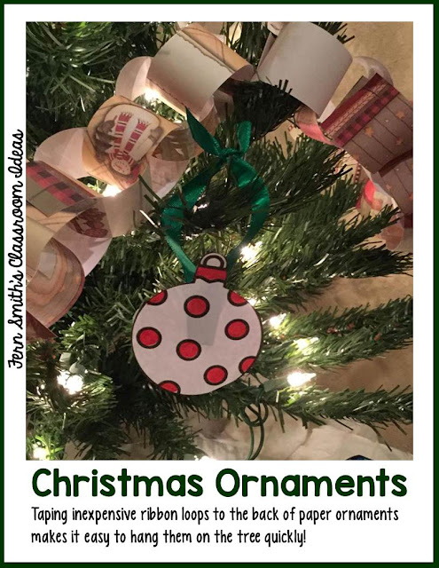 Fern Smith's Classroom Ideas Christmas Party Ornament Download