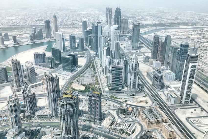 Blick von Burj Khalifa 2