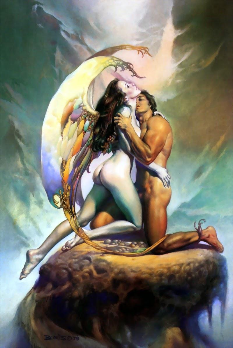 Momentos que Ficarão para Sempre - Obras de Boris Vallejo ~ O rei no campo da fantasia