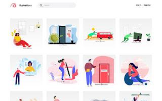 Illustratious es una biblioteca de ilustraciones