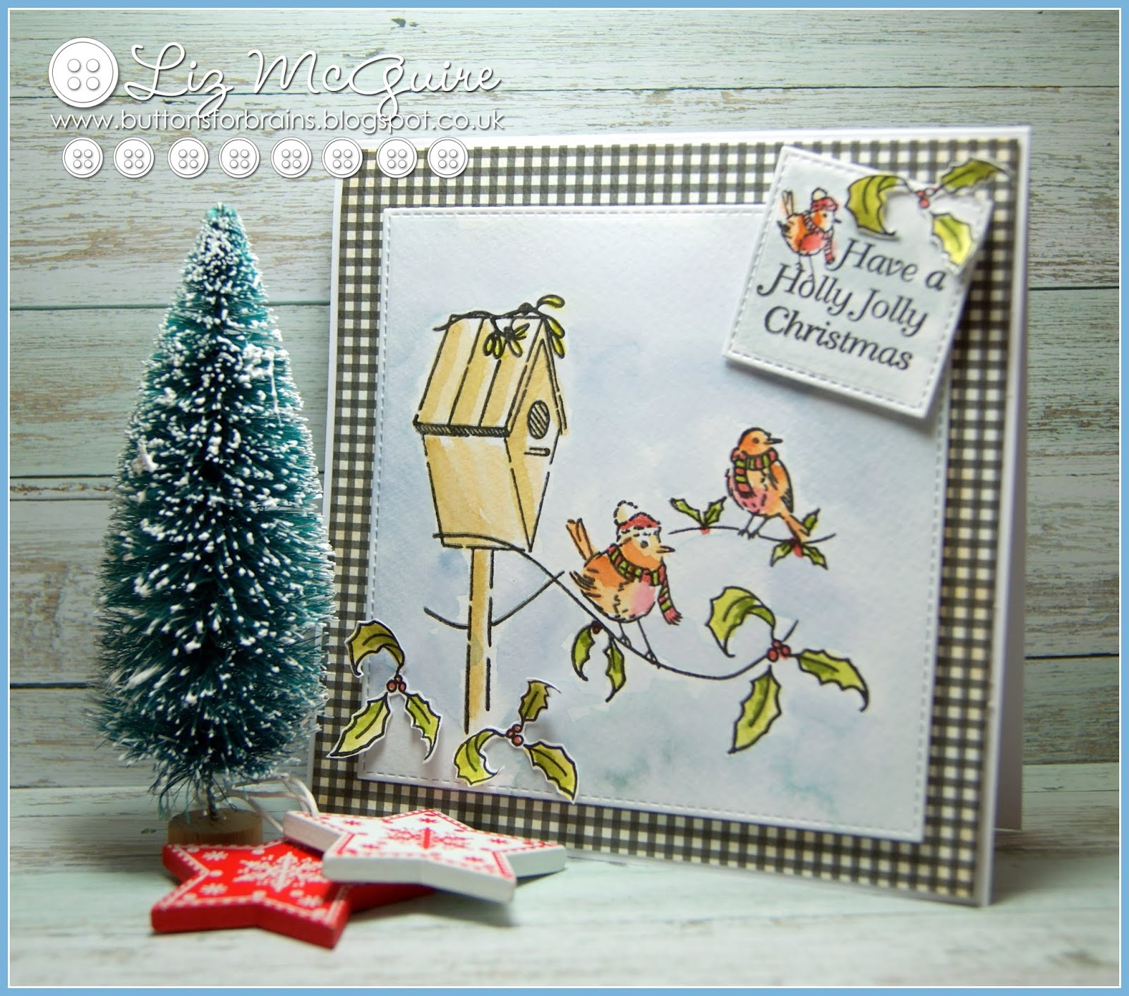 buttonsforbrains: Holly Jolly Christmas