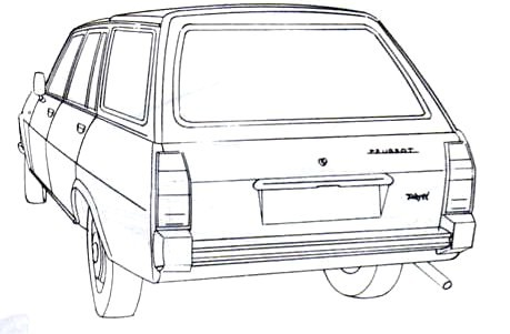 1968 Peugeot 504 Break related infomation,specifications