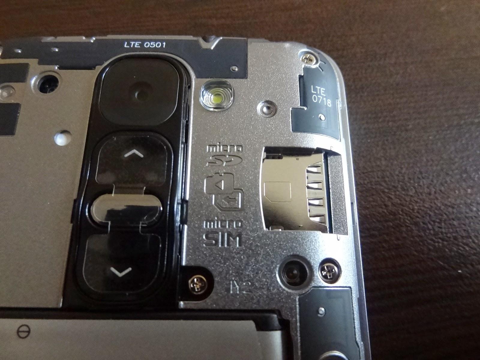 G2 mini microSIM microSD