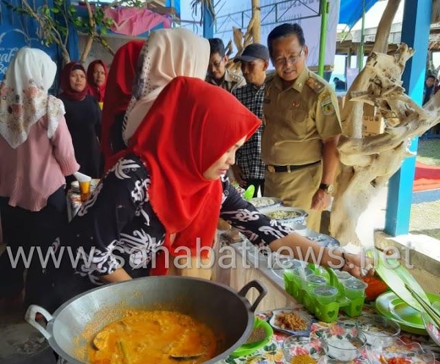 Dihadiri Wabup, Festival Kuliner dan Kerajinan Lowita Di Suppa