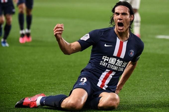 PSG 4-3 Bordeaux: Cavani hits 200th PSG goal, Neymar sees red in 7-goal thriller
