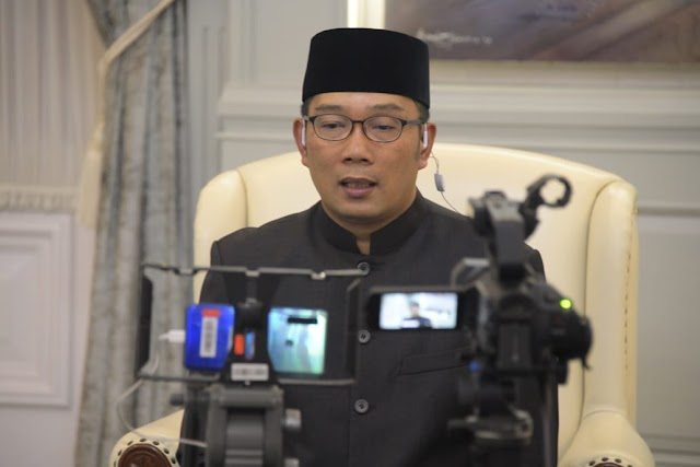 Antisipasi Covid -19, Gubernur Jabar  Ridwan Kamil Cek Kesehatan