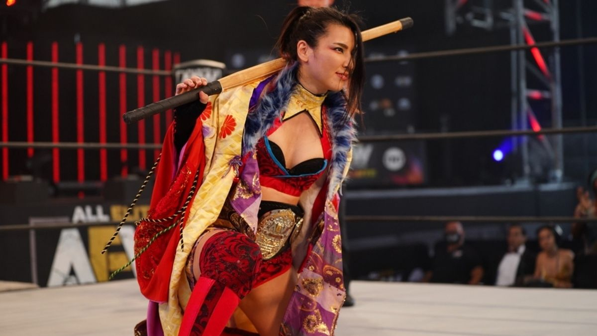 Novo design do AEW Women's World Championship é apresentado no Dynamite