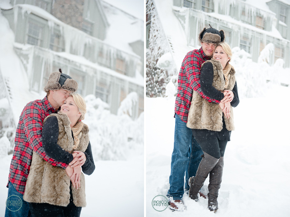 MoscaPhoto, Timberline Lodge Engagement Session