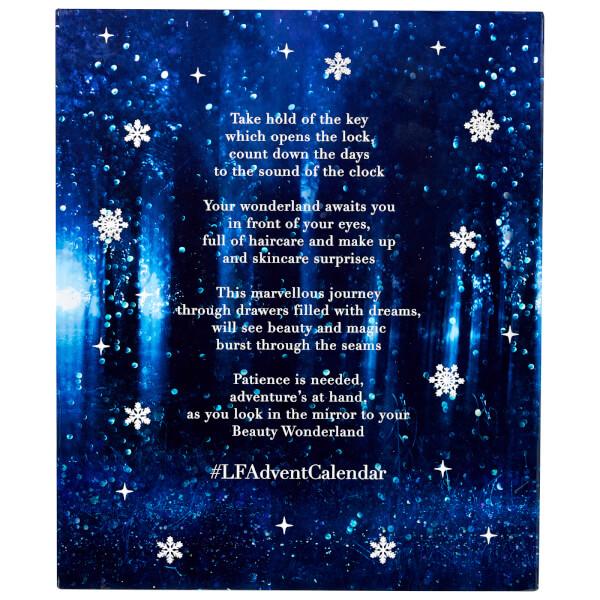 LookFantastic Beauty In Wonderland Advent Calendar for Holiday 2017 design