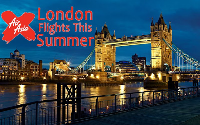 London AirAsia X Flights