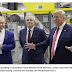 President Trump visits manufacturing facility in Ohio with Australian prime minister
