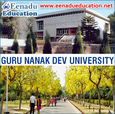 Guru Nanak Dev University, Amritsar: Teaching & Non-Teaching Posts