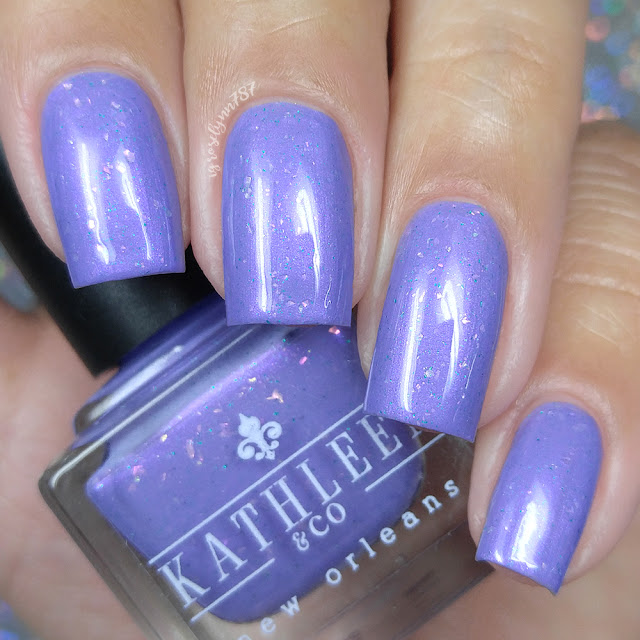 Kathleen & Company - Purple Pixies on Parade