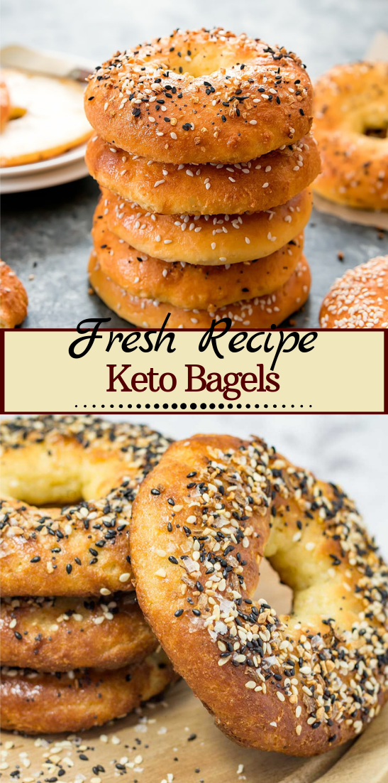Keto Bagels #healthyfood #dietketo #breakfast #food