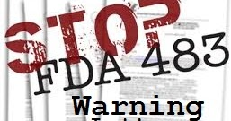 FDA Form 483 and Warning Letters : Pharmaceutical Guidelines