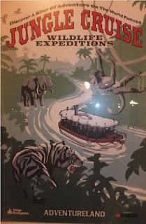 Tokyo Disneyland Jungle Cruise Poster