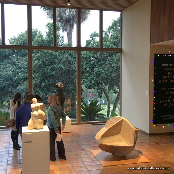 sculpture gallery in old wing at McNay Art Museum in San Antonio, Texas