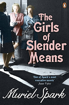 The Girls of Slender Means by Muriel Spark book cover