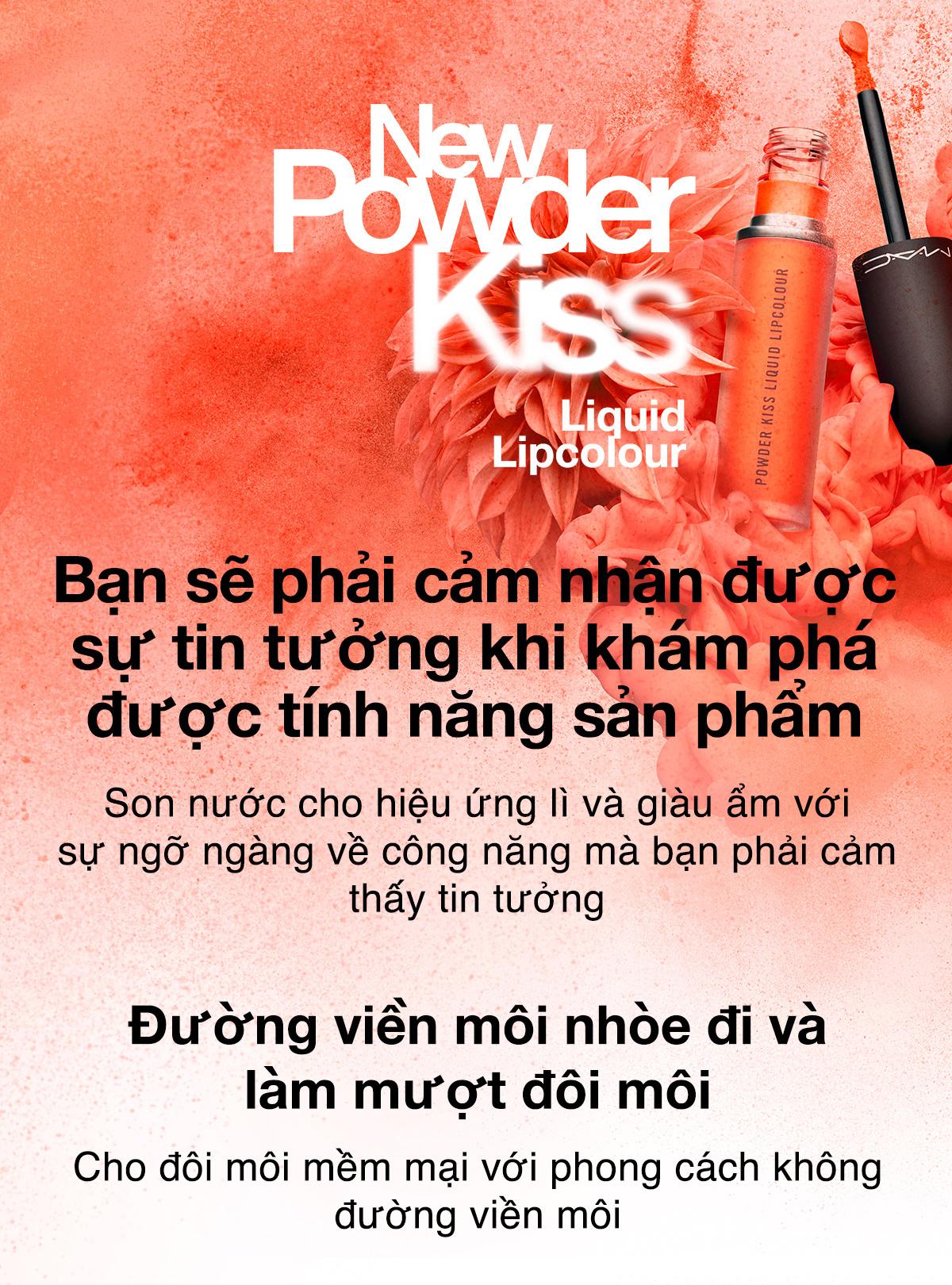 Son Môi MAC POWDER KISS LIQUID LIPCOLOUR 5ml
