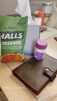 allergies, allergy medicine, halls, cough drops, pollen
