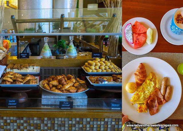 Well-rounded breakfast in Swissotel Al Ghurair