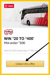 red bus amazon offer