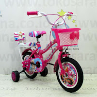 Sepeda Anak Erminio 2205 Snowman 12 Inci