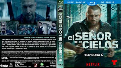 CARATULA-EL SEÑOR DE LOS CIELOS - TEMPORADA 6 - 2018
