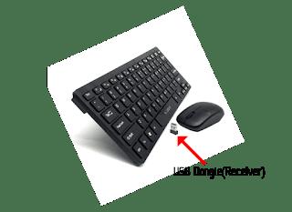 keyboard dan mouse wireless