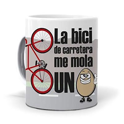 Regalos originales para ciclistas: Taza ciclista