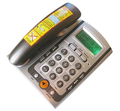 Телефон с АОН Matrix M-300 (2616) c автоматическим определителем номера (АОН) без дополнительного питания (питание от телефонной сети!)