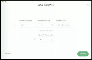 Instale WordPress
