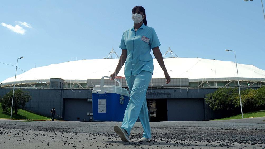 Escándalo: suspendieron la vacunación en el Estadio Ciudad de La Plata por el partido de River