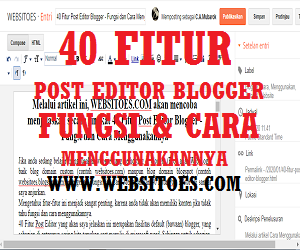 Box Editor - 40 Pos Editor Blogger
