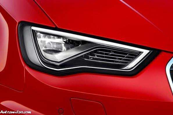 Audi LED Scheinwerfer Matrix 2013