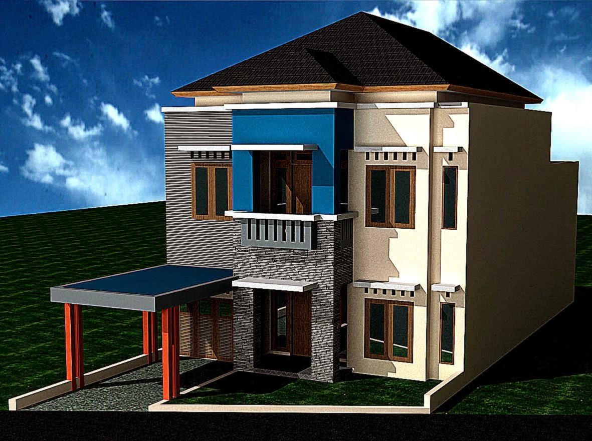 Contoh Rumah Minimalis 2 Lantai Type 21 | Expo Desain Rumah