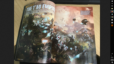 White Dwarf Pics Showing the Tau Codex Release and Artwork - Faeit