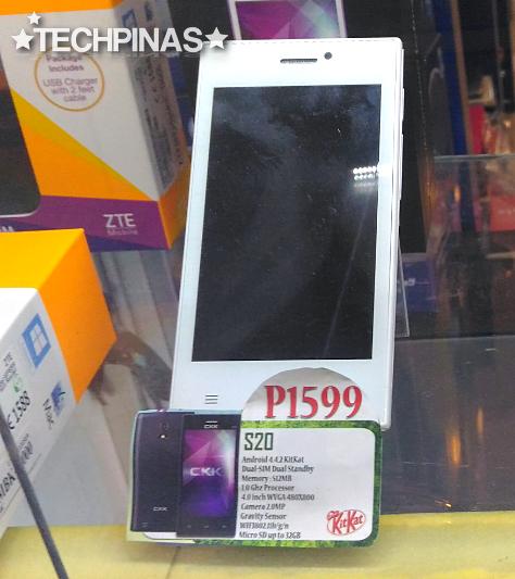 CKK Mobile S20, CKK Android Smartphone