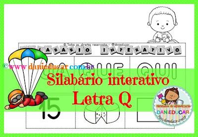 Letra Q, Atividades de 1º ano, Atividades de alfabetização, PDF, silabas, atividades do alfabeto, ALFABETO,