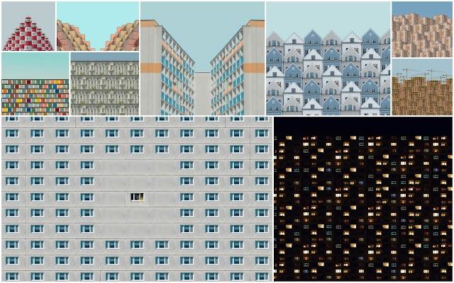 Τα αρχιτεκτονικά φωτογραφικά κολλάζ του Michal Zahornacky εμπνευσμένα από την πανδημία