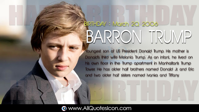 English-Barron-Trump-Birthday-English-quotes-Whatsapp-images-Facebook-pictures-wallpapers-photos-greetings-Thought-Sayings-free