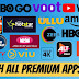 How to Get Hotstar,Netflix,Amazon,HBO Now,Premium For Free