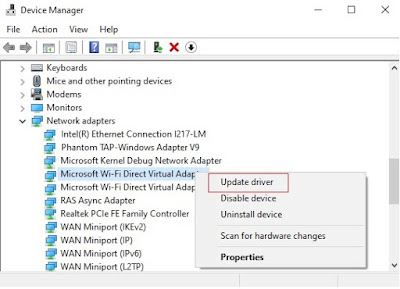 Update the network drivers