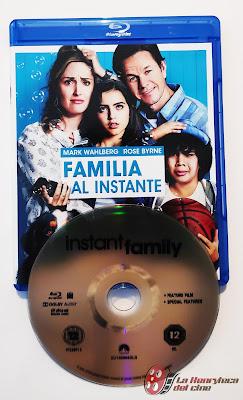 Familia al instante Bluray