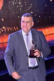 شاعر عراقي يحصل على المركز الاول في مهرجان همسة للادب والفنون المقام بمصر
