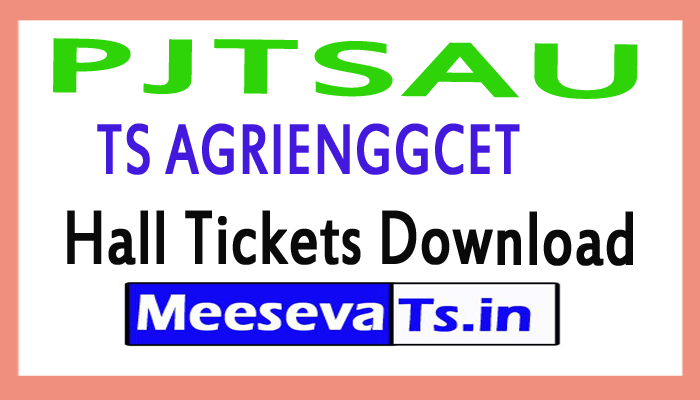 TS AGRIENGGCET Hall Tickets Download 2017