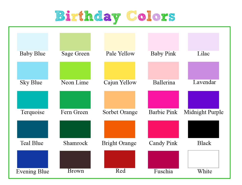 birthday colors Larissa Photography: Planning your First Birthday Session birthday colors