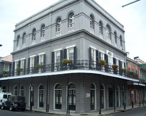 Haunted nation lalaurie mansion new orleans la the for Mansions in new orleans