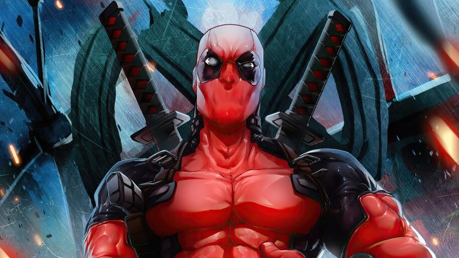 Deadpool, Marvel, Comics, 4K, #6.2076