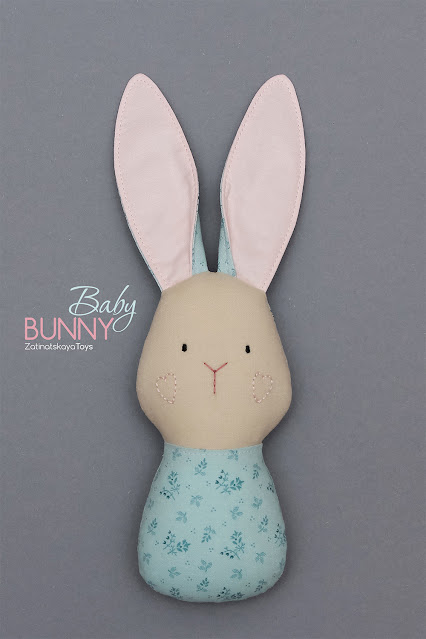 baby doll bunny for kids crafts
